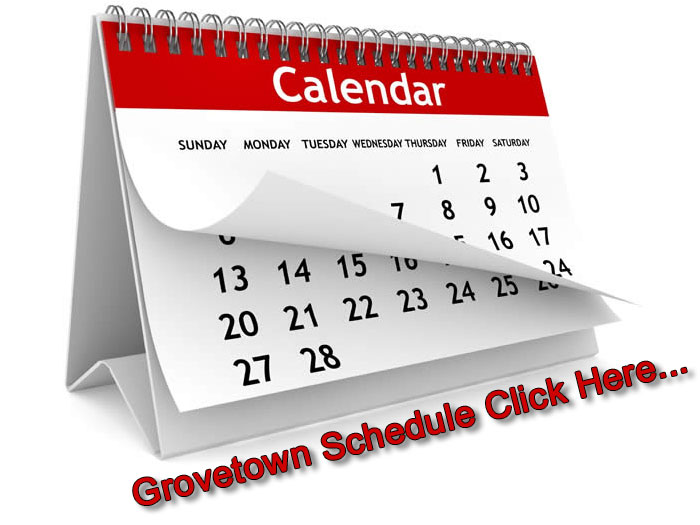 Click here for Grovetown Schedule